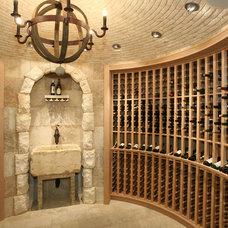 Mediterranean Wine Cellar by Ancient Surfaces