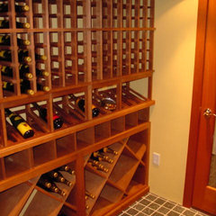 traditional wine cellar by Michelle Jacoby, Changing Spaces