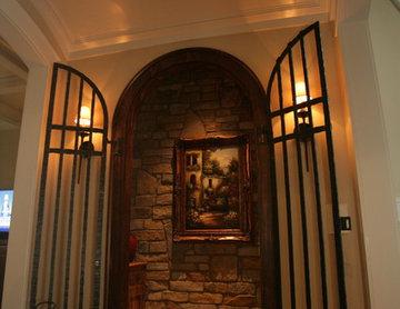 Wine Cellars Under A Stairwell