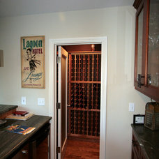 Traditional Wine Cellar by Nunley Custom Homes