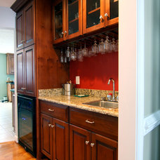 Traditional Wine Cellar by Criner Remodeling