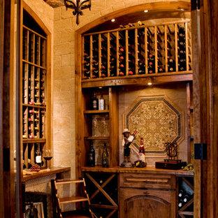 Wine Grotto Created From Unused Closet