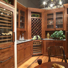 Mediterranean Wine Cellar by Clarke Appliance Showrooms
