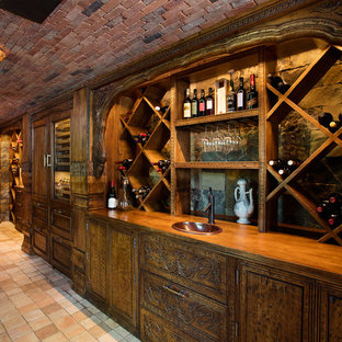 Arts and crafts wine cellar photo in Other