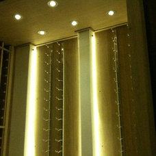 Modern Wine Cellar by wilma castillos