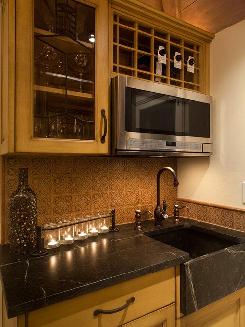 Midcentury wine cellar design ideas renovations photos for Wine cellar flooring options