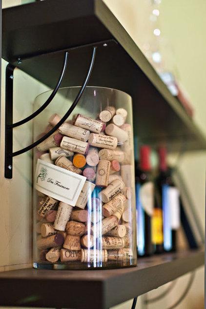 Contemporary Wine Cellar Wine Rack