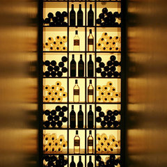 contemporary wine cellar by Robert Granoff