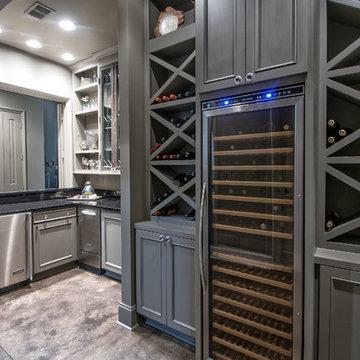 Wine room addition