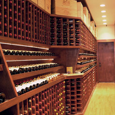 Modern Wine Cellar by Atlantic Construction Consulting