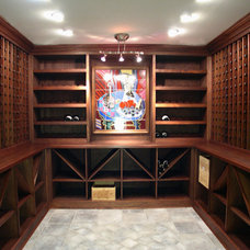 Wine Cellar by Atlantic Construction Consulting