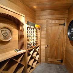 traditional wine cellar by Benhoff Builders Inc