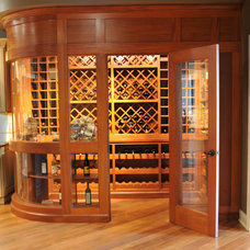 Traditional Wine Cellar by Universal Cabinetry Design Center