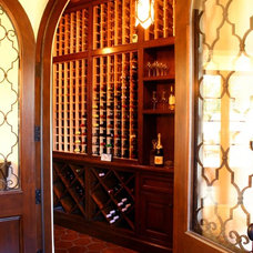Mediterranean Wine Cellar by Finished by Design