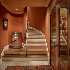 Traditional Wine Cellar by Gregory Carmichael