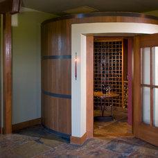 Contemporary Wine Cellar by JMA (Jim Murphy and Associates)