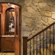 Beach Style Wine Cellar by John Kraemer & Sons