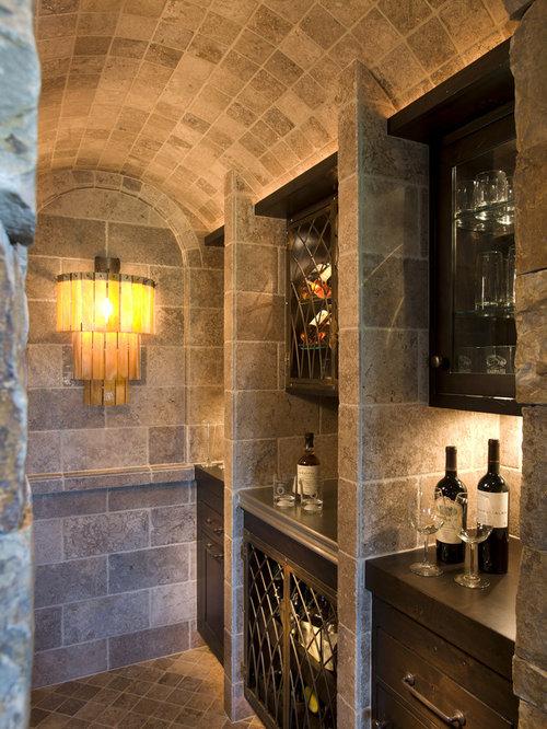 Rustic minneapolis wine cellar design ideas remodels photos for Wine cellar design ideas and pictures