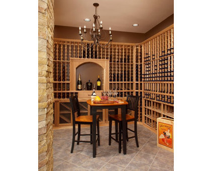Traditional Wine Cellar by neapolis design