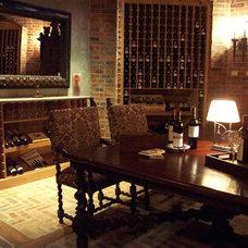 Traditional Wine Cellar by Richard Mersiovsky, A.I.A.