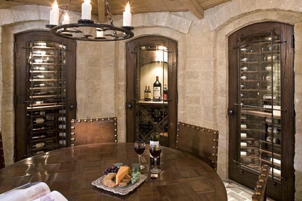 Traditional Wine Cellar by Stonewood, LLC