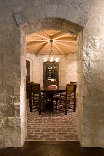 traditional wine cellar by Stonewood, LLC