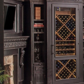 Wine Room Transformation