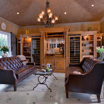 Wine Room, Tuscan Inspired Tasting Room