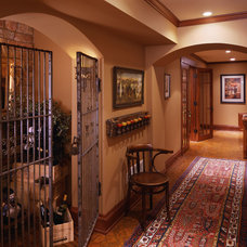 Traditional Wine Cellar by Twist Interior Design