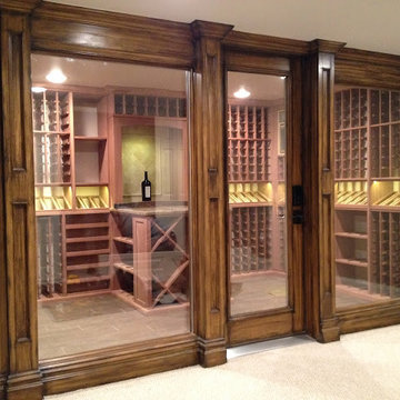 Wine Rooms and Cellars