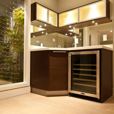 Modern Wine Cellar by Sofo Kitchens