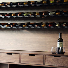 Contemporary Wine Cellar by Henrybuilt