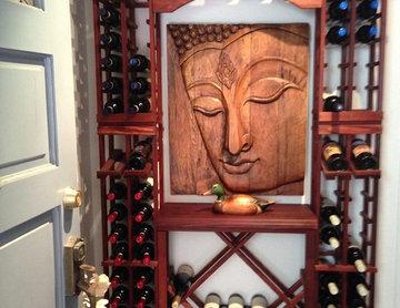 WineMaker Stackable Wine Racks Tasting Center