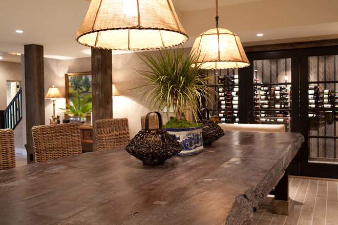 Contemporary Wine Cellar by JM Lifestyles