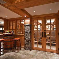 Wine Cellar by Woodmeister Master Builders