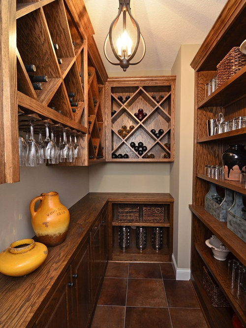 Small space wine cellar design ideas renovations photos for Wine cellar layout