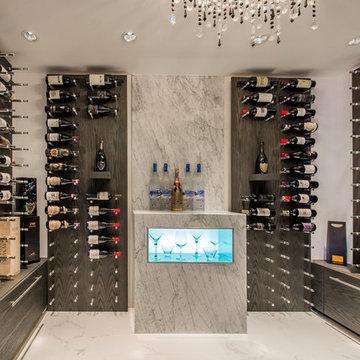 Yeterian Residence Wine Cellar - Contemporary, Vancouver