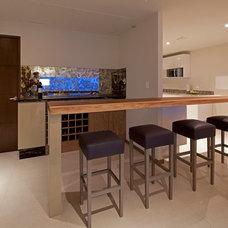 Modern Wine Cellar by Zuazua Architects