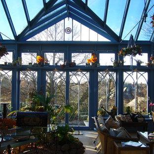 Englischer Wintergarten mit 2 Terrassenüberdachungen im viktorianischen Stil