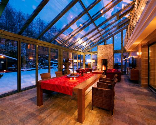moderner wintergarten in stuttgart ideen design bilder. Black Bedroom Furniture Sets. Home Design Ideas