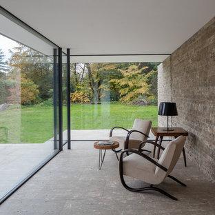 Kleiner Moderner Wintergarten Ideen Design Bilder Houzz
