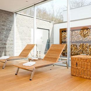 Sauna und Ruhebereich