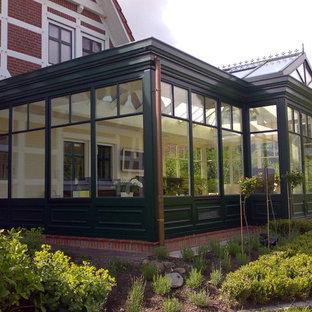 viktorianischer Orangerie-Wintergarten
