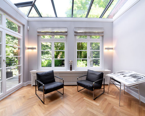 moderner wintergarten bilder ideen houzz. Black Bedroom Furniture Sets. Home Design Ideas