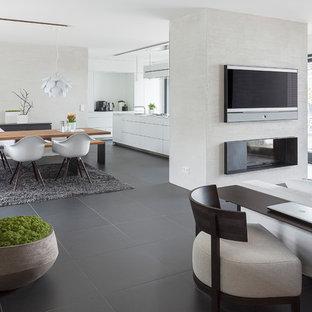 01-Umbau Wohnhaus in S - Kamin - nachher