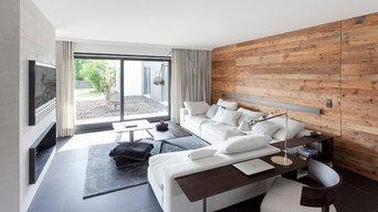 01-Umbau Wohnhaus in S - Wohnbereich