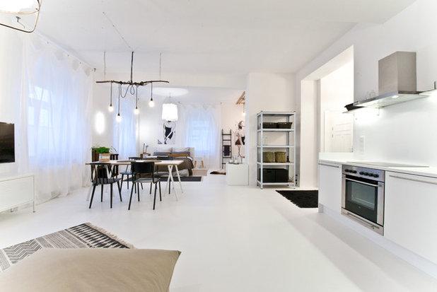 Skandinavisch Wohnbereich by freudenspiel - interior design