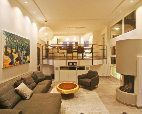 alles neu alles besser wohnzimmer und offene k che. Black Bedroom Furniture Sets. Home Design Ideas