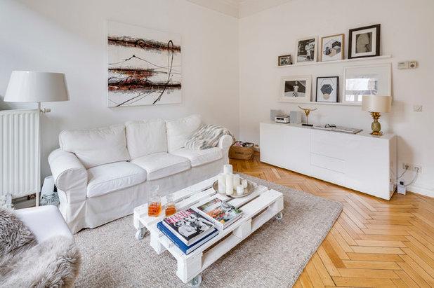 Skandinavisch Wohnbereich by Sven Fennema Fotografie