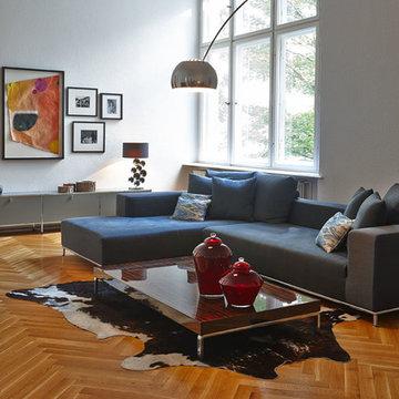 Altbauwohnung Wohnzimmer